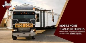 Mobile Home Transport- Texas Mobile Home Transport Services